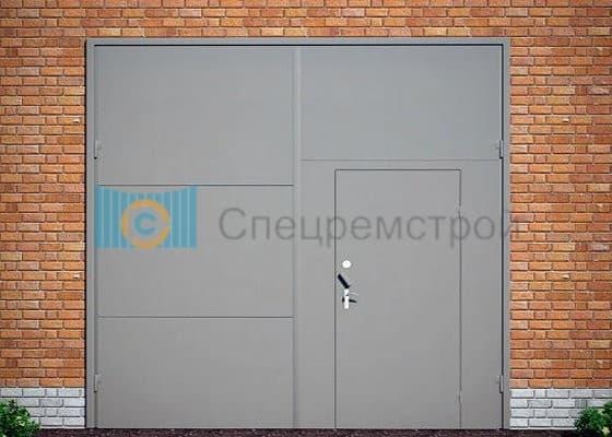 сколька стоит железная дверь и ворота