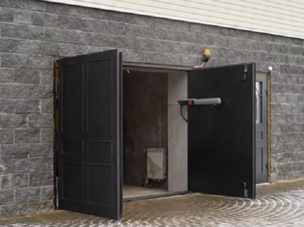 Купить распашные ворота в гараж макеевка купить гараж